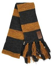 Harry Potter Fantastic Beasts Newt Scamander Hufflepuff Costume Knit Gray Scarf
