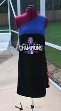 Chicago Cubs One Shoulder Dress Upcycled T-Shirts 2XL Ready to Ship