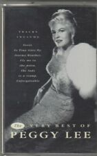 PEGGY LEE Cassette Album - THE VERY BEST OF PEGGY LEE