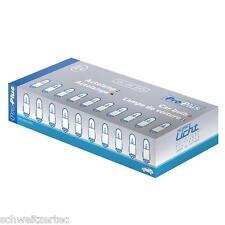 10x BA7s 2w Tachobeleuchtung Amaturenbrettbeleuchtung 12V 10 Stück