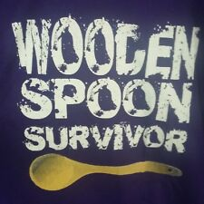 Wooden Spoon Survivor purple size 2XL t shirt