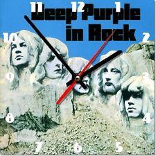 Sveglia da parete, orologio DEEP PURPLE in rock music MDF wall clock