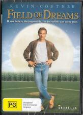 FIELD OF DREAMS - KEVIN COSTNER - NEW & SEALED REGION 4 DVD FREE LOCAL POST