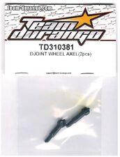 RC Team Durango TD310381 DJOINT Wheel Axle DETC410 v2 1/10 Touring Car