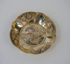 Antike Weinprobierschale 800er Silber um 1900 wohl Hanau Handarbeit