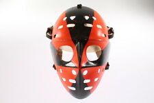 Old Vintage Painted Goalie Hockey Jason Mask