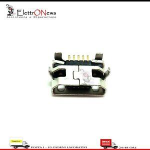 Connettore micro USB ricarica Lenovo A3000 A3000H A3000-H A10-70 A7600-H A112