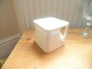 Vintage art deco cube teapot