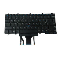 US Backlit Keyboard w/ Pointer & Buttons for Dell Latitude E5450 E5470 Laptops