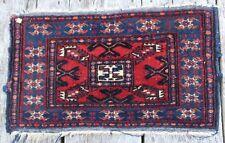 Età tappeto orientale annodato 40x68 Buchara TAPPETO CARPET RUG ponte 72