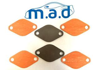 ULTIMATE VW AUDI SKODA SEAT EGR PLATE KIT V.A.G 1.2 1.4 2.0 2.5 TDi