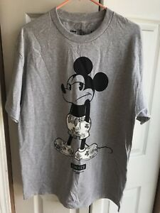 Cancun Small Disney Neff Mickey Mouse Stripe A Dot Womens Scoop Tee Shirt