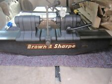Brown Amp Sharpe 17 10 Bench Center With Mitutoyo Indicator 17 Between Centers