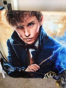 "Warner Brothers Harry Potter Fantastic Beasts, ""Smoke"" Throw Blanket 46""x60"""