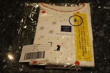 NWT 3 Janie & Jack halloween cat & pumpkin girls pajama set