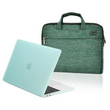 """2018/2017/2016 MacBook Pro 13"""" A1989/A1708/A1706 Matte Hard Case + Sleeve Bag"""