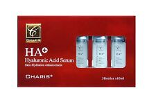 Charis HA Hyaluronic Acid Serum 3 bottles x 10ml, Placenta/Stem-cell, by Nova