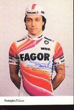 FABIAN PANTAGLOU cyclisme ciclismo Autographe FAGOR