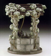Disney Lladro Snow White's Wishing Well #7558 MINT in Box Retired Hard to Find