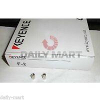 KEYENCE Fiber Focusing Lens One Pair F-2 F2 Original New in Box NIB Free Ship