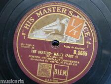 78 rpm BOSTON PROMENADE ORCH the skaters waltz - waldteufel