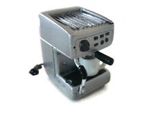Dollhouse Miniatures COFFEE MAKER MACHINE SILVER Kitchenware Electric Bakery