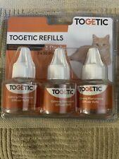 Togetic Refills Ensure Insane Calm for Cat & Kitten 3pk Phermone Diffuser Refill