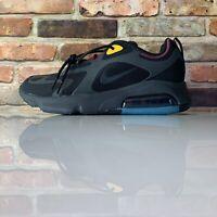Nike Air Max 200 Athletic Shoes Bordeaux Black AQ2568-001 Mens Size 9.5