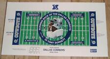 "Tony Dorsett Dallas Cowboys 30"" by 16.5"" NFL Football Lithograph - FREE SHIPPING"