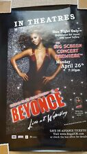 Beyonce 27 x 40 Promotional Poster - Music/Movie release-rare-new-rolled-R ead