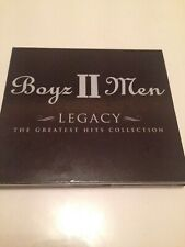 Boyz II Men ‎– Legacy: The Greatest Hits Collection Deluxe Edition two disc set