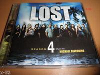 LOST season 4 soundtrack CD abc tv series SCORE by MICHAEL GIACCHINO jj abrams