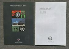 ALPINA BMW 7er (E38) Zubehör - Prospekt Brochure - 1998 - 4 Seiten + Preisliste