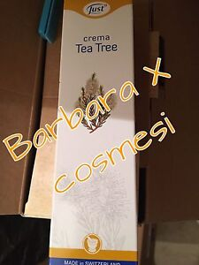 2x Crema Tea Tree Just nuovo 100 ml PROMO