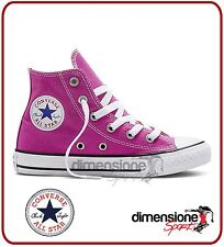 ALL STAR alte BAMBINA ROSA TG 30 US 12,5 351873C SCARPE CONVERSE TELA PINK shoes