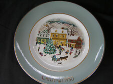 Avon 1980 Country Christmas by Wedgwood Plate