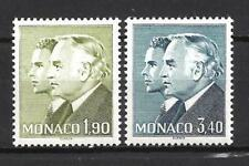 Monaco 1986 Yvert n°1538 et 1539 neuf ** 1er choix