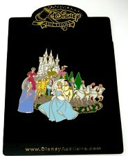 Jumbo Le 100 Disney Auctions Pin✿ Cinderella Cast Lady Tremaine Fairy Godmother+