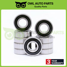 10 Pcs 6203-2RS Double Rubber Seals Deep Groove Ball Bearing 6203-RS 17x40x12mm