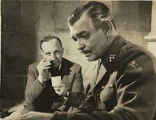 "CLARCK GABLE in ""Betrayed"" Original Vintage Photo 1954"