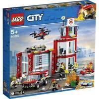LEGO CITY 60215 la caserma dei pompieri