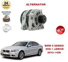FOR BMW 5 SERIES F10 550 i + xDRIVE 2013-->ON ALTERNATOR UNIT