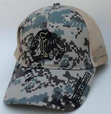 """""""Tillamook COUNTRY SMOKER"""" Beef Jerky Snapback Trucker Style Camo Baseball Cap"""