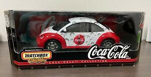 1:18 Diecast Matchbox Collectibles Coca-Cola 1999 Volkswagen Beetle - New In Box