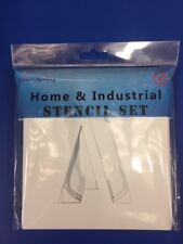 """1""""-39""""  (25mm to 1000mm) Stencils A-Z letter"""