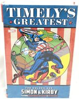 Timely's Greatest Golden Age Simon & Kirby Omnibus Marvel Comics HC Sealed $150
