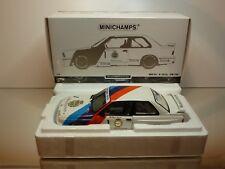 MINICHAMPS BMW M3 E30 DTM 1987 M. HESSEL #1 - WHITE 1:18 - EXCELLENT IN BOX