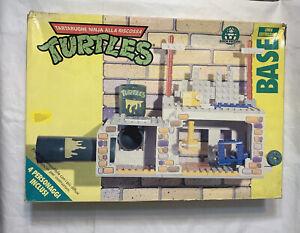 Vintage TEENAGE MUTANT NINJA TURTLES TMNT Lair Base Figures Lego Import 1989 GIG