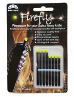Firefly Variety 8 Pack Swiss Army Knife Fire Starter Steel Flint for Victorinox