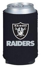 2 OAKLAND RAIDERS BEER SODA WATER CAN KADDY KOOZIE HOLDER NFL FOOTBALL